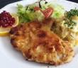 bramborový salát řízek