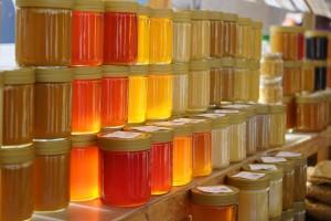 sklenicky medu